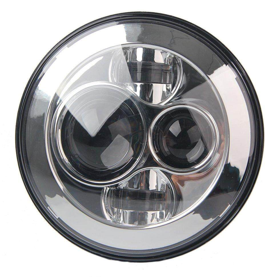 7inch H4 H13 Motorcycle Projector Hi/Lo LED Headlight For Harley For Wrangler - intl