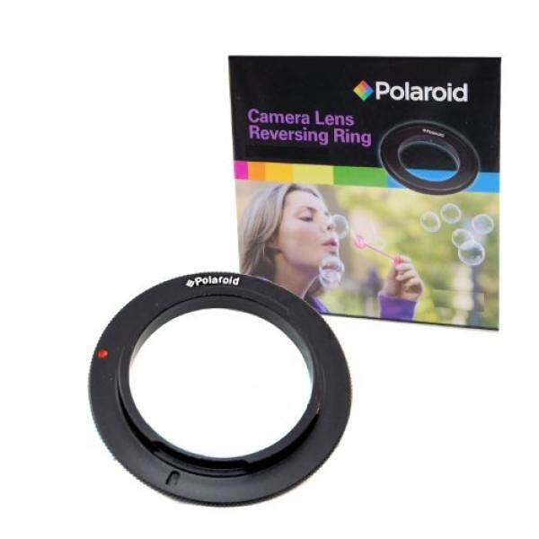 Polaroid 58mm Filter Thread Lens, Macro Reverse Ring Camera Mount Adapter For The Nikon D40, D40x, D50, D60, D70, D80, D90, D100, D200, D300, D3, D3S, D700, D3000, D5000, D3100, D7000, D5100, D3200, D600, D4, D800, D800E Digital SLR Cameras - intl
