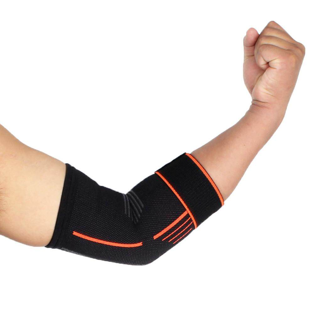 Ceci Fashion Olahraga Luar Ruangan Penopang Siku Bantalan Penahan Cedera Tali Bantuan Penjaga .