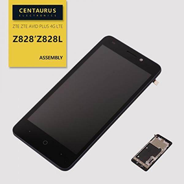 Untuk ZTE Avid Plus 4G LTE Z828 Z828L Bingkai Digitizer Sentuh LCD Layar Perakitan-Intl