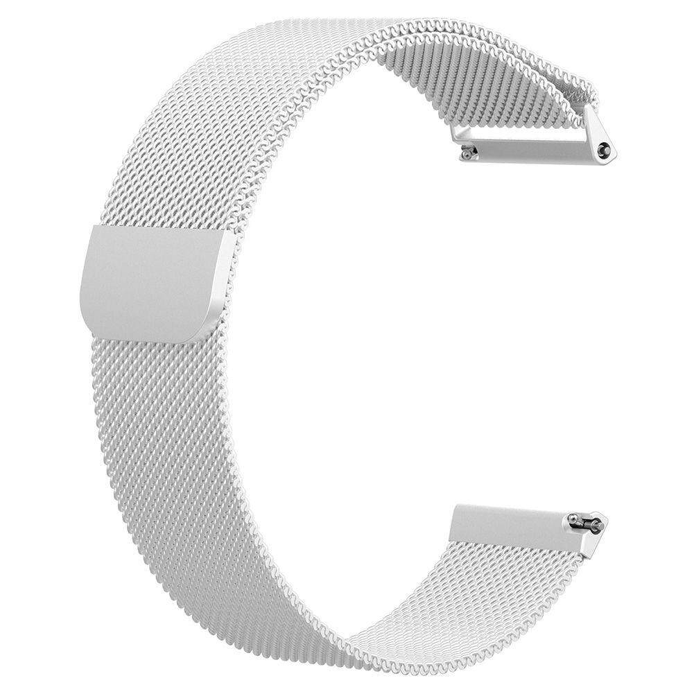 Hình ảnh Replacement Magnetic Loop Metal Stainless Wrist Band Strap For Fitbit Versa S/L - intl