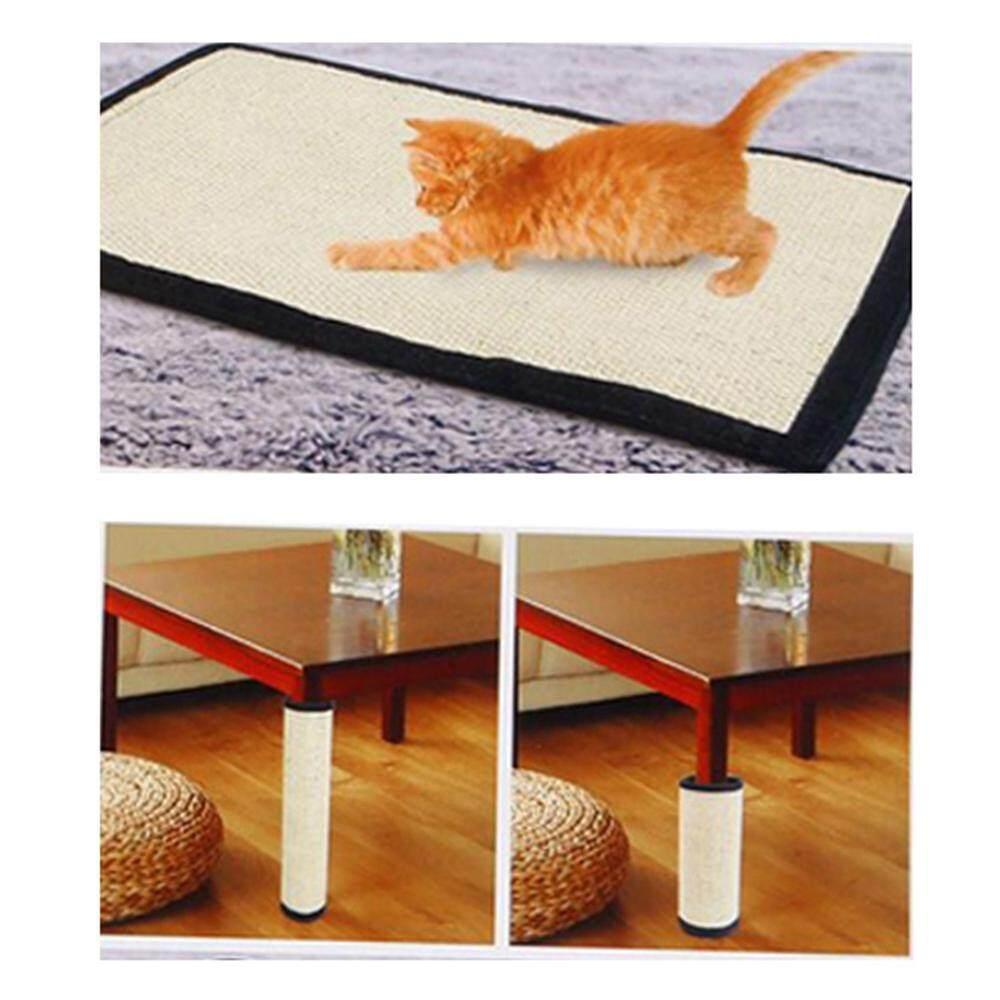 2019 Scratching Board Mat Pad Cat Loop Carpet Scratcher Indoor Home Furniture Table Chair Sofa Legs Protector Pet Toy Furniture & Scratchers