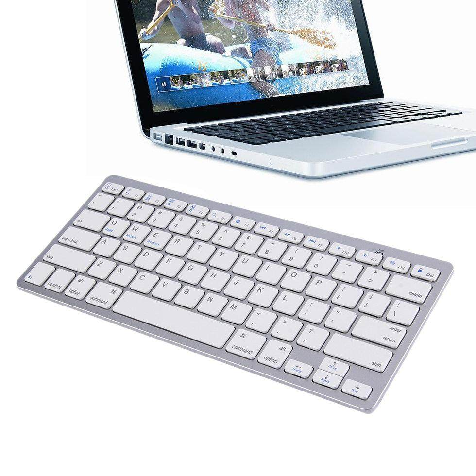 Ultra Slim Wireless Bluetooth Keyboard For Android MAC Windows OS System - intl