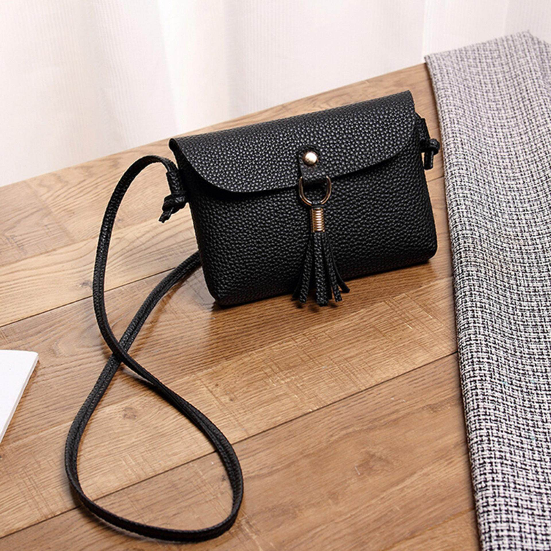 82081625bd women leisure crossbody messenger bag pu leather small sling shoulder bags