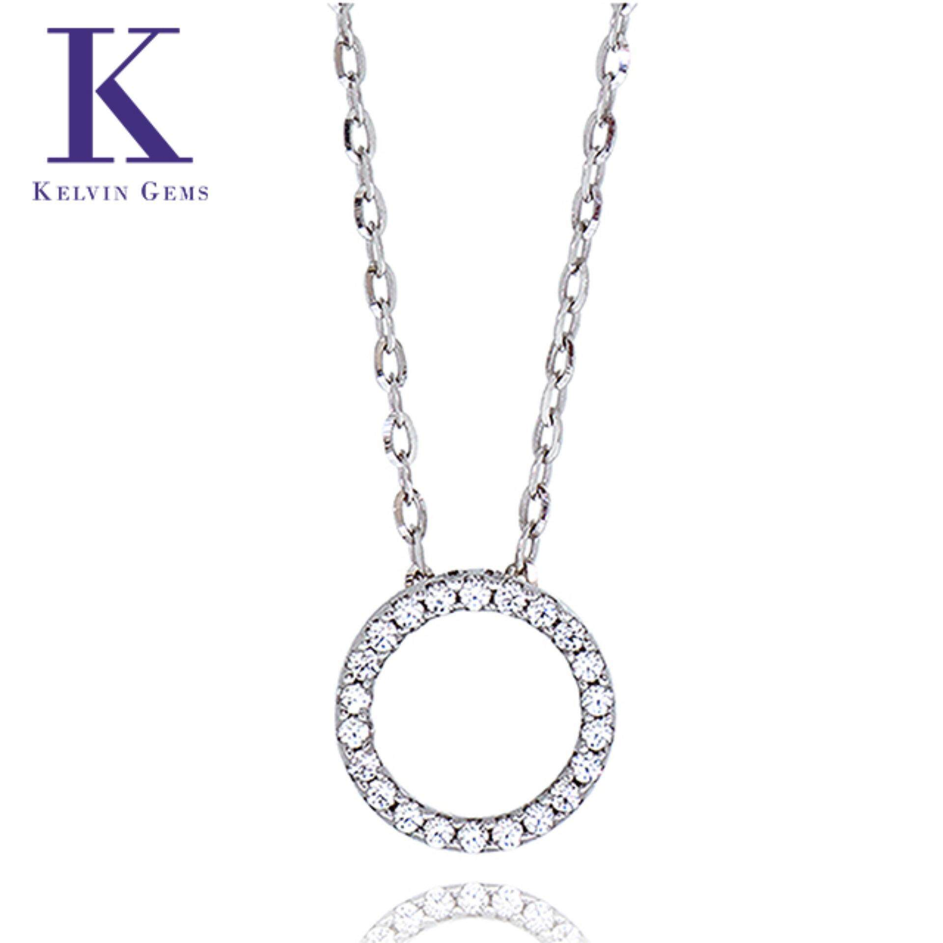 Kelvin Gems Premium Multiway Ring (Small) Pendant Necklace m/w Swarovski Zirconia