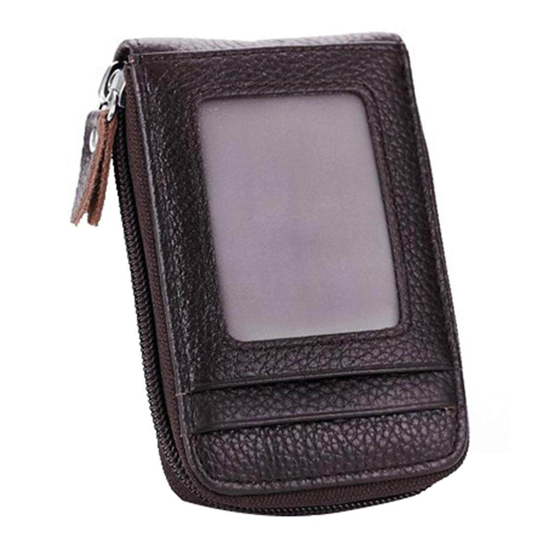 Card Holder Wallets High Quality Female Credit Card Holders Women Pillow Organizer Purse(Coffee)