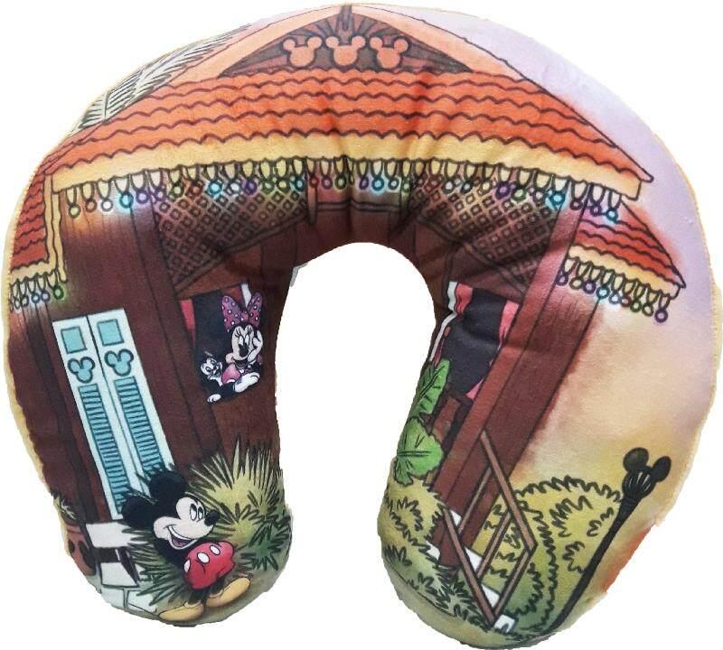 Disney Go Local X Disney Mickey Minnie Neck Cushion - Malaysia Kampung House