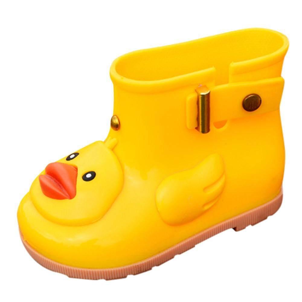 Cocol Max Bayi Anak Anak Bayi Bebek Kartun Karet Sepatu Bot Tahan Air Sepatu Hujan