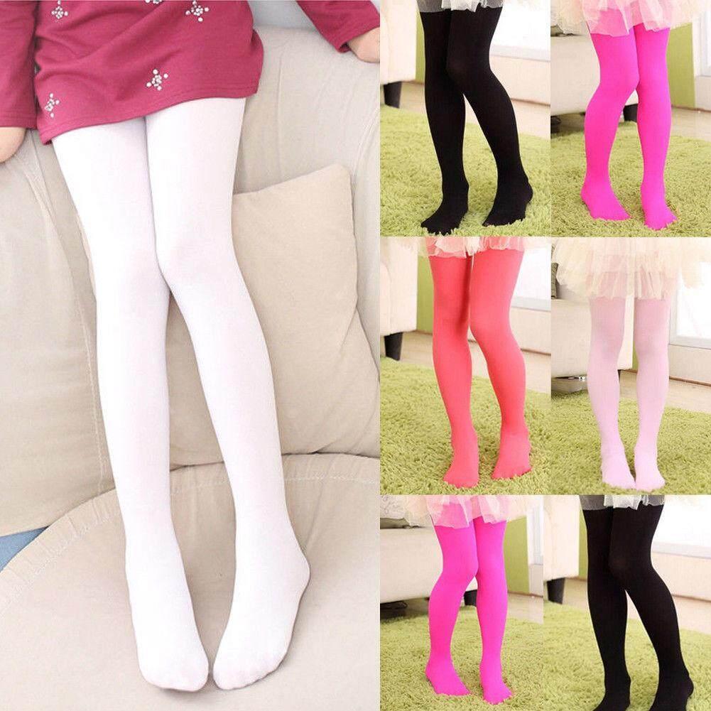 08804c7fd Girls Kids Tights Velvet Pantyhose Hosiery Ballet Dance Socks Candy Colors  Gift