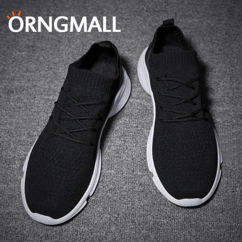 ... Orngmall Pria Berlari Sepatu Mode Terkini Sepatu Kasual Sepatu Joging  Musim Panas Kaos Kaki Berdaya Serap ... b1fbf770f8