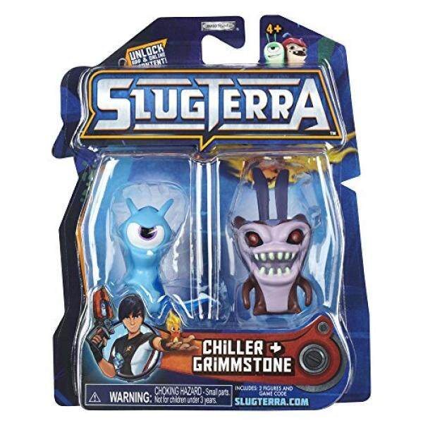 Slugterra Series 2 Chiller & Grimmstone Mini Figure 2-Pack by Animewild [Toy] - intl