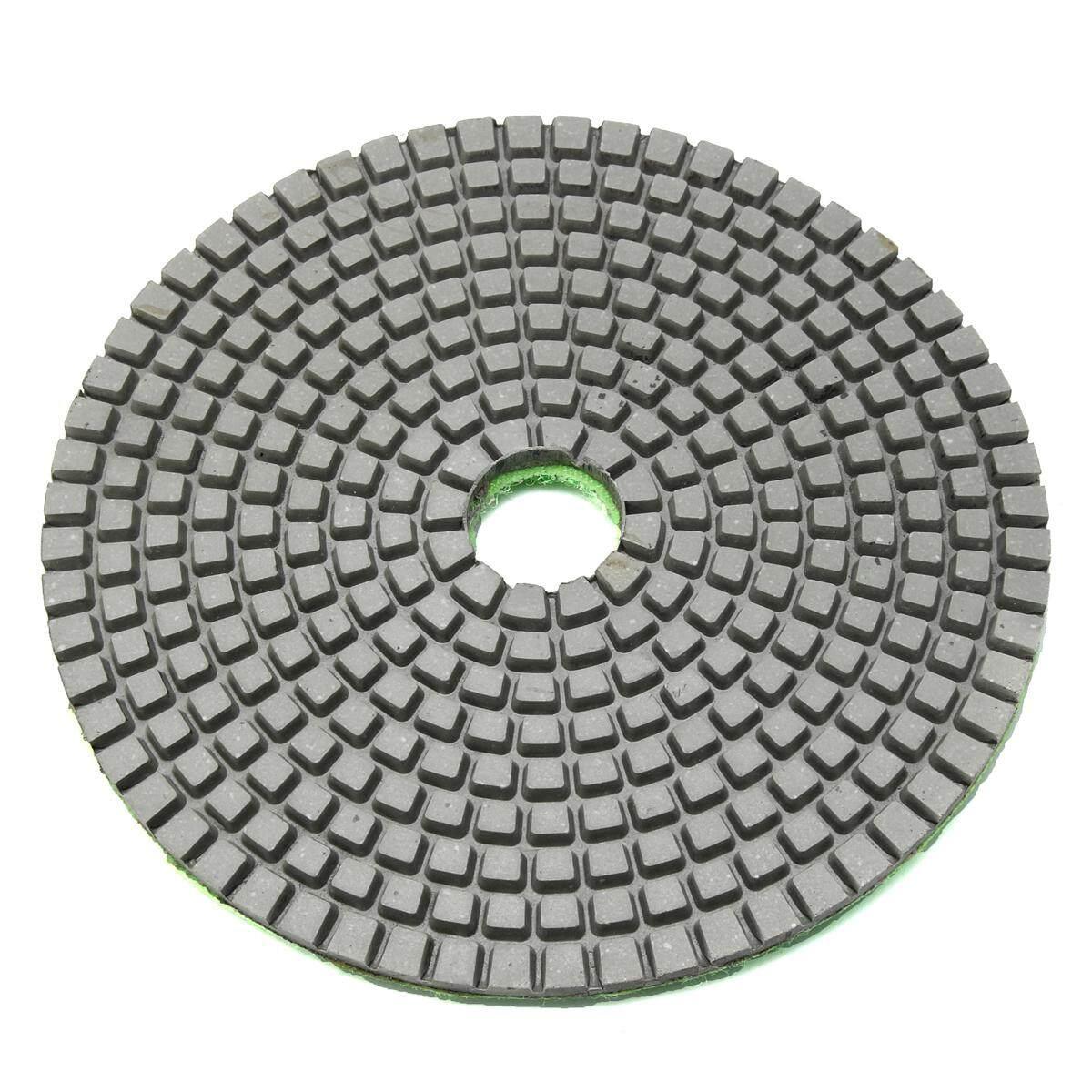 5 Inch 1500 Model Kotak-kotak Basah Kering Berlian Alas Poles Amplas Disc Granit Beton