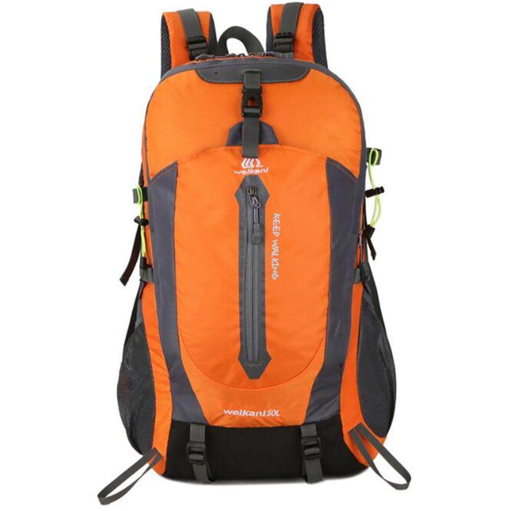Magic Cube Outdoor Sports Backpack 50L Hiking Camping Backpack luggage Bag  with Rain Cover d3a1e86d3e680