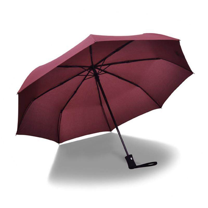 Paraguas Umbrellas Special Offer Adults Parapluie Umbrella Samurai Male Full Automatic Folding Since The Open Close Three Colorburgundy By Glimmer.