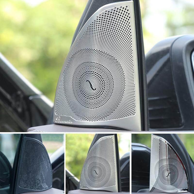 Kiểu Dáng xe Âm Vực Cao Loa Bao Âm Thanh Loa Miếng Dán Có Khung Cho Xe Mercedes Benz GLC Lớp X253 tự động Phụ Kiện (mờ)