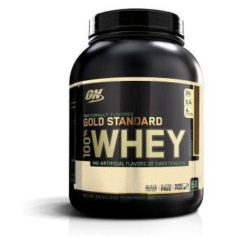 Optimum Nutrition - Gold Standard 100% Whey Naturally Flavored - 4.8 lbs (2.18 kgs) - Chocolate