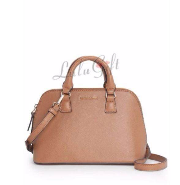 Lulugift Saffiano Sling Tote Bags