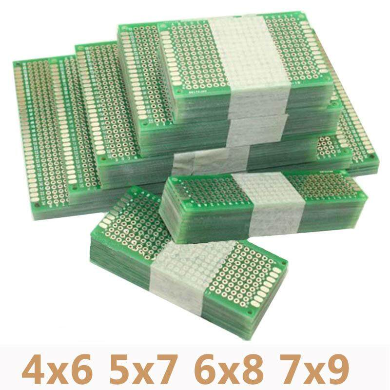 4 Pcs/lot 4X6 5X7 6X8 7X9 Double Side Prototipe PCB Universal Dicetak Papan Sirkuit