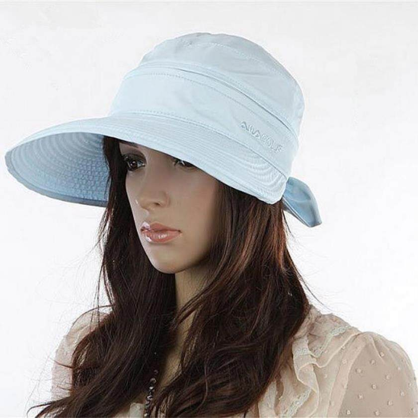 2baf8e13375 China. Travel Adjustable Women Lady Visor Wide Brim Uv Protection Beach Sun  Hat Dual Purpose Outdoor Hat