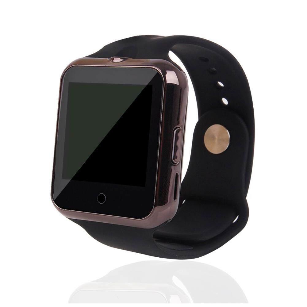 C88 Bluetooth Smartwatch Mendukung Kartu SIM TF Multilanguage MTK6261 Jam Tangan Pintar untuk iPhone Ios Android