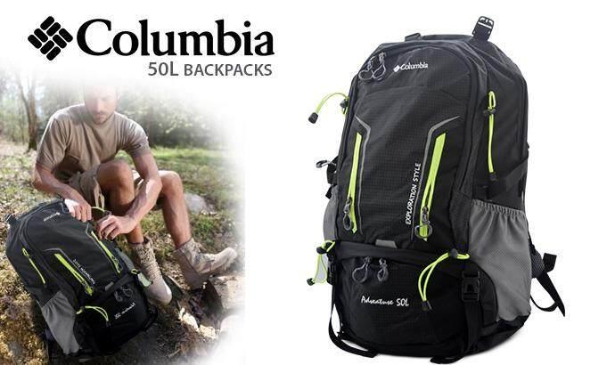 Columbia Backpack Black 50 Liter Bag