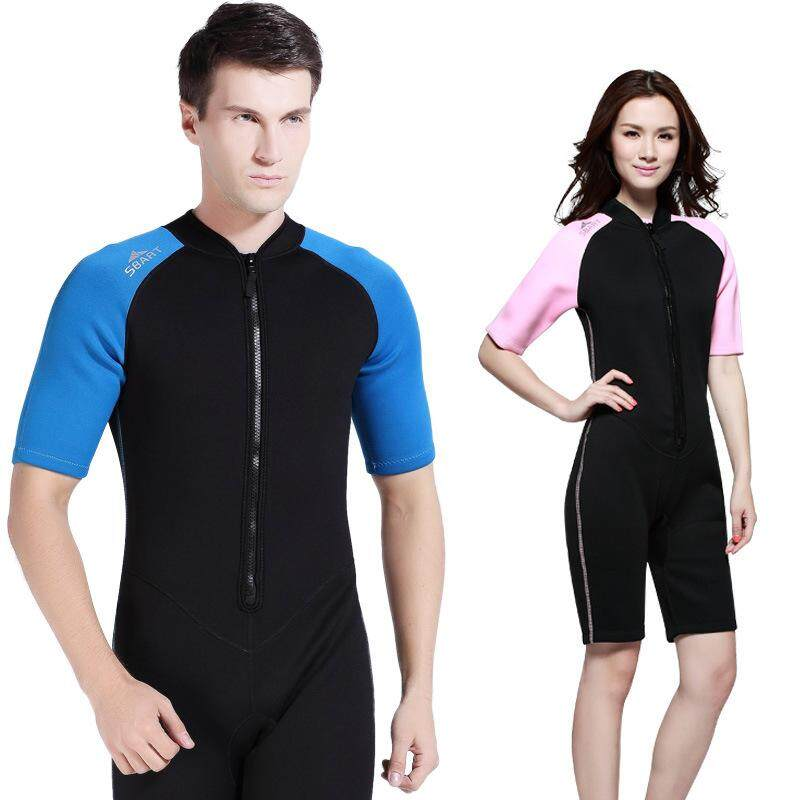 33317bc6a4 Special Offer Sbart Man and Women 2mm Short Sleeve Wetsuit One-piece  Neoprene Diving Suit
