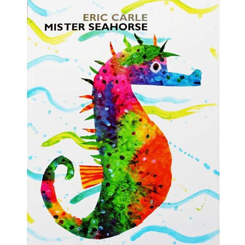 Mister Kuda Laut Oleh Eric Carle Pendidikan Bahasa Inggris Versi Buku Gambar Kartu Belajar Buku Cerita