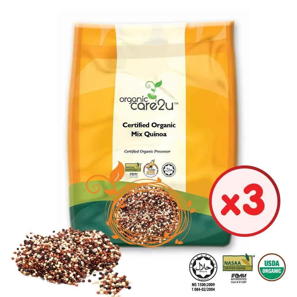 Organic Care2u Organic Mix Quinoa (400g) - [Bundle of 3]