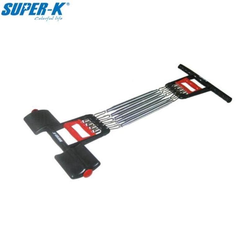 SUPER-K scp0869 kéo ngực 5 Spring Expander thể thao tập thể dục chân bước thiết bị tập thể dục-