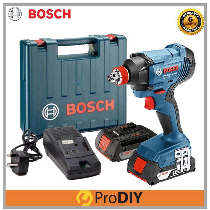 BOSCH GDX 180-LI 2in1 Professional Cordless Impact Driver/Wrench