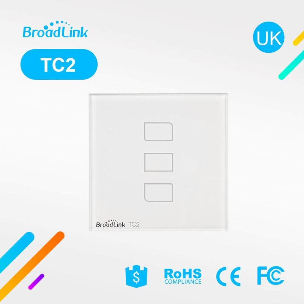 Broadlink Buy At Best Price In Malaysia Download Image 100 Amp Sub Panel Wiring Diagram Pc Android Iphone Burstore Original Tc2 3 Gang Touch Switch Rm Pro Smart Home Automation Universal Wireless