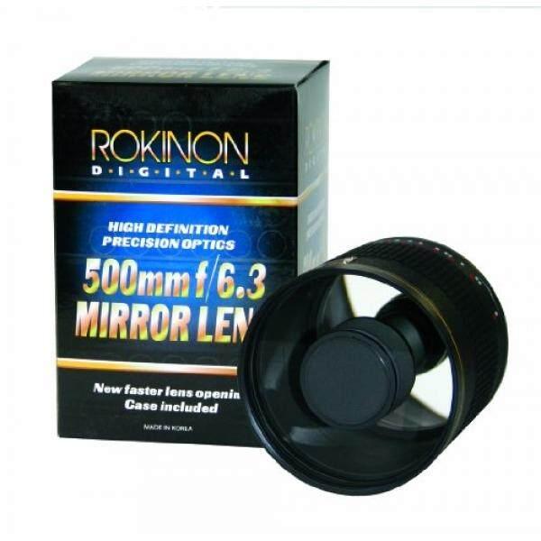 Rokinon ED500M-B 500 Mm F/6.3 Lensa Kaca (Hitam)-Intl