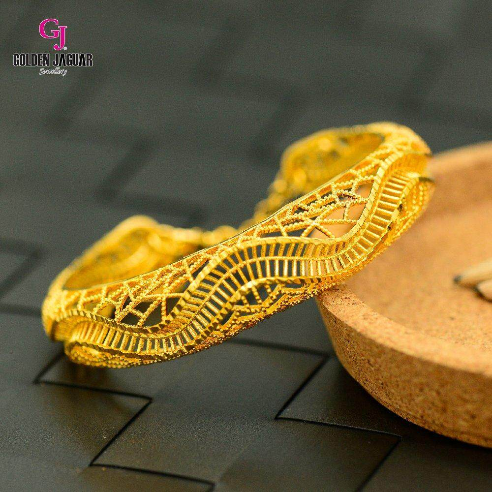 Emas Korea Golden Jaguar Bangle (GJJ-59687)
