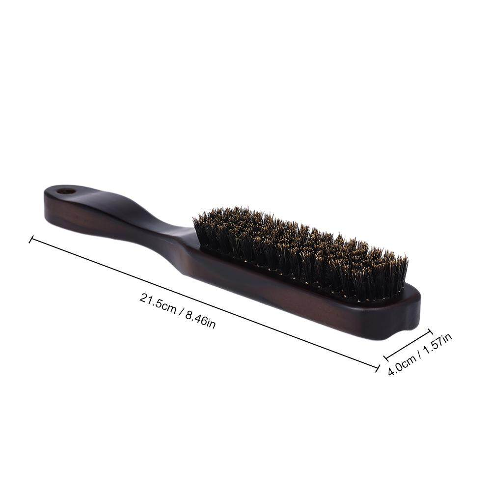 Males Facial Beard Brush Wooden Mustache Comb Men Shaving Brush Multifunctional Facial Hair Brush - Intl By Tomtop.