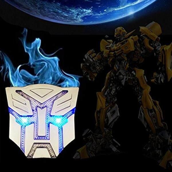 Hengjia Auto Parts Mobil Datang Energi Surya Dekorasi Transformers Stiker Logo Logam 3D Decepticons Lencana Emblem