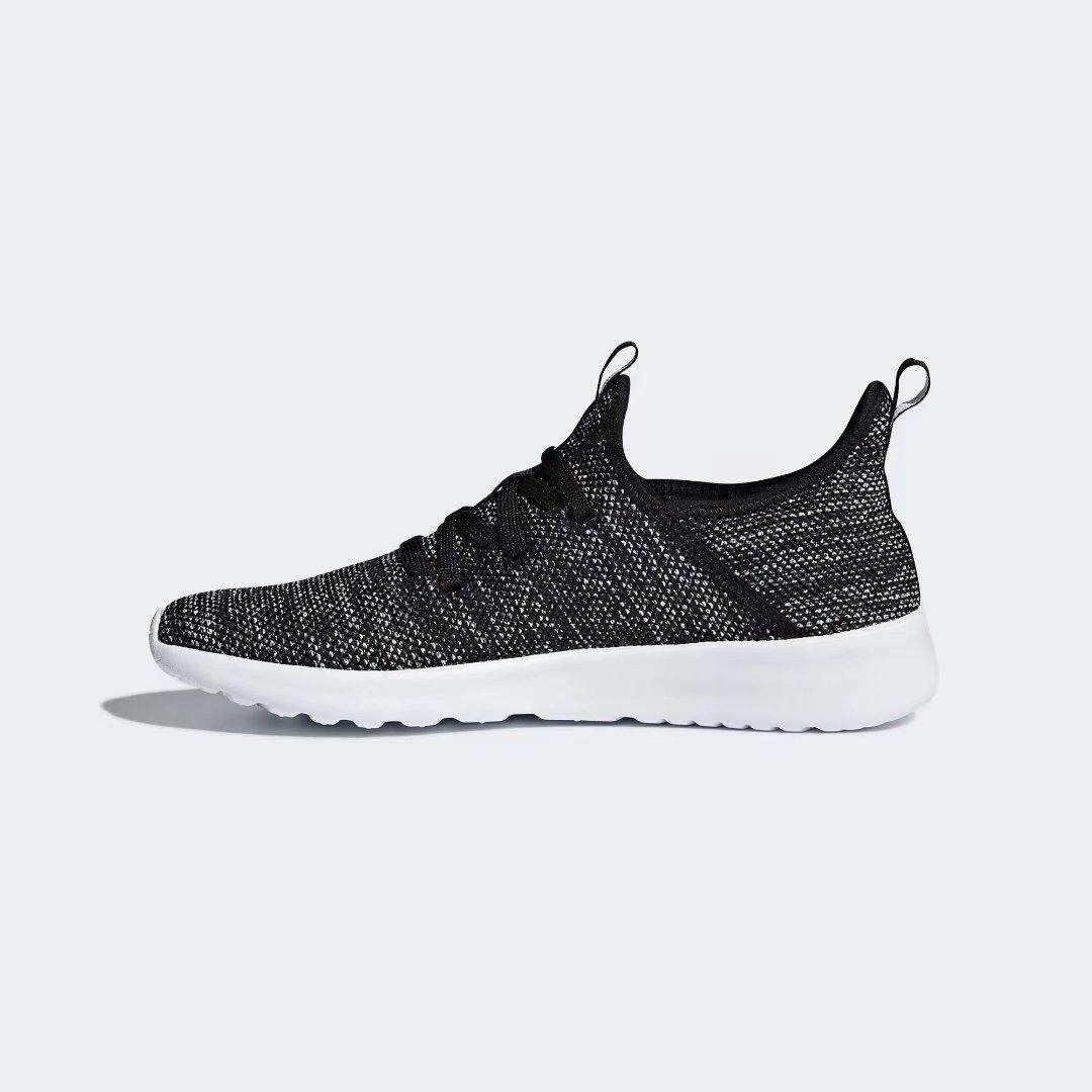 Adidas WM Cloudfoam Pure Running shoes black white Sneakers DB0694 UK3.5-6.5 03'