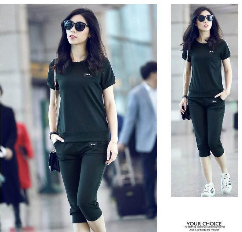 Korean Style Women Casual Sport Set Collection 357 8105