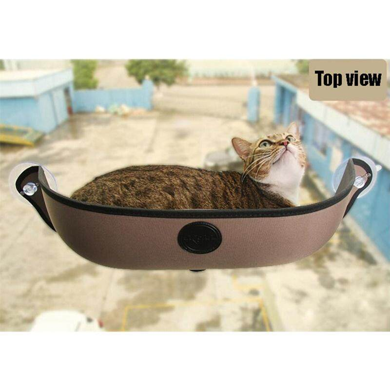 LUCKY G Pet Cat Window Hammock Strong Suction Cups Comfortable Warm Nest with Mat New style
