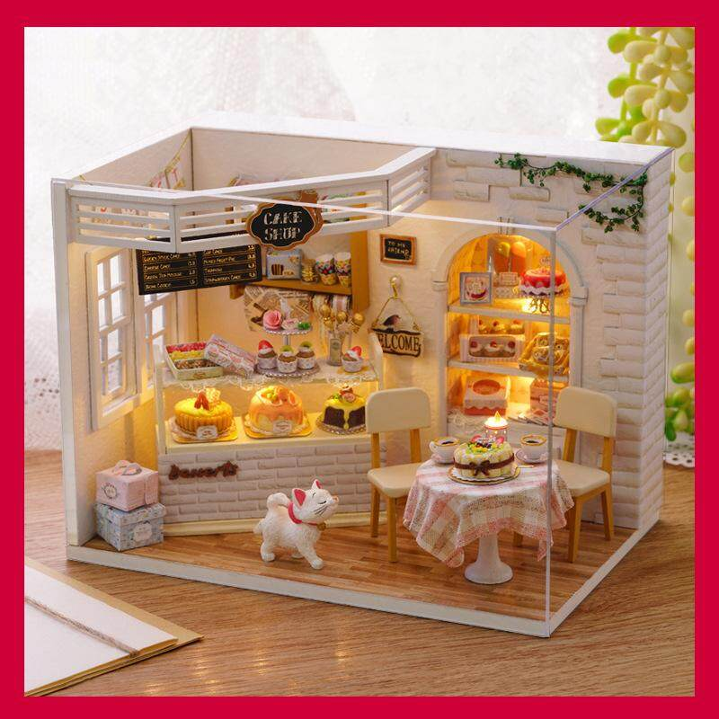Outstanding Romantic And Cute Dollhouse Miniature Diy House Kit Creative Room Perfect Diy Gift For Friends Download Free Architecture Designs Viewormadebymaigaardcom