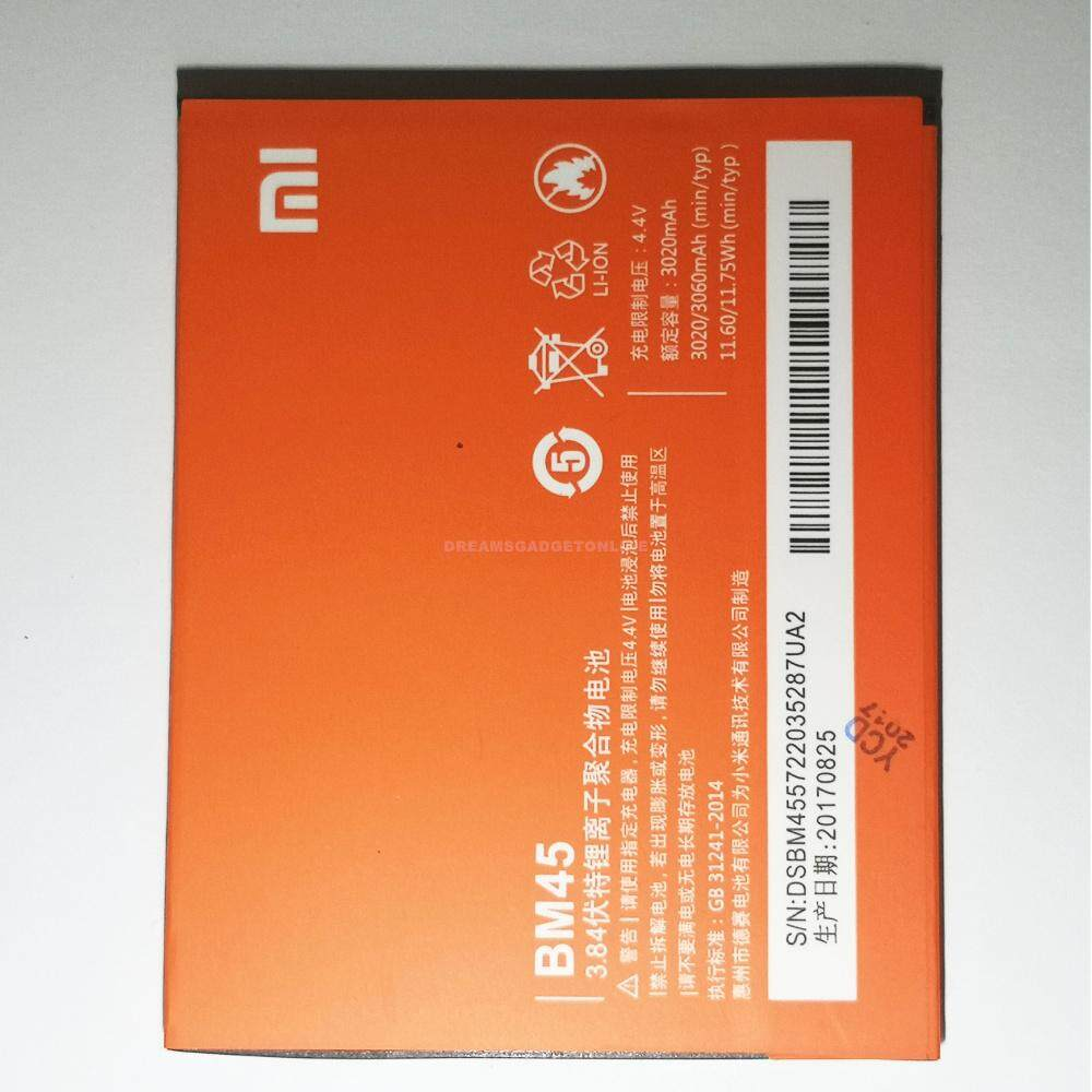Xiaomi Phone Batteries Price In Malaysia Best Baterai Batrai Batre Battery Original Redmi4a Bn30 Redmi 4a Replacement For Note 2 Bm45 3020mah