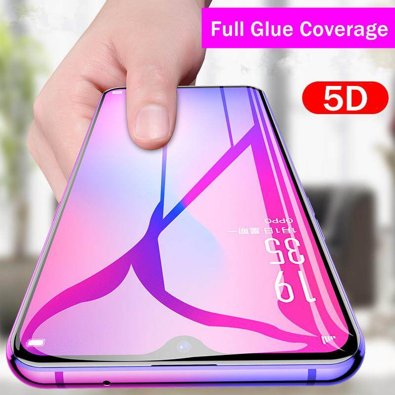 5D Tempered Glass Full Cover For Oppo F9 F7 F7 Youth F5 A5 A3s F1s A37