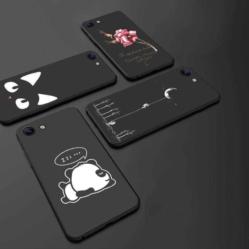 Detail Gambar For VIVO Y69 Ultrathin Silicone Case Cute Cartoon TPU Soft Back Cover 3D Printing Anti Fingerprint Phone Cases Mobile Accessories With Stand ...