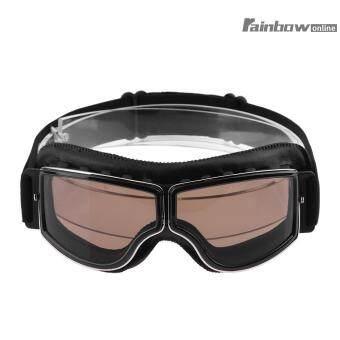 Harga preferensial Retro Klasik Anti-kabut Anti Sinar UV Kacamata Olahraga Luar Ruangan Tahan Angin