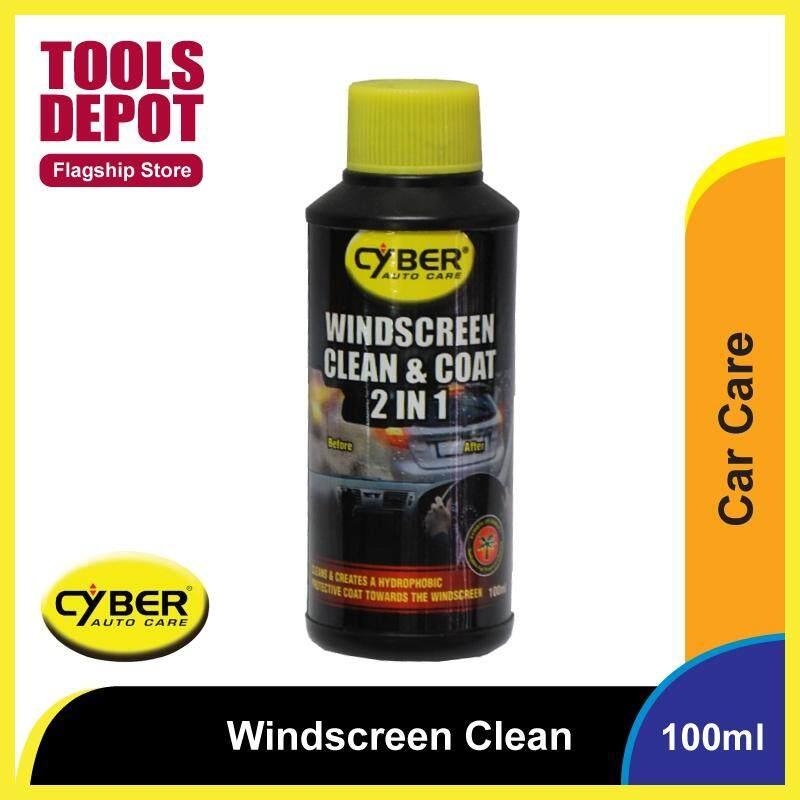 Cyber Windscreen Clean & Coat 2 in 1 (100ml)