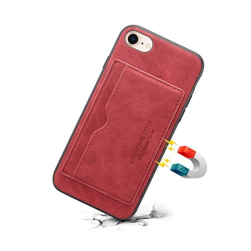Sebagai Kecantikan iPhone 7 Iphone 8 PU Ponsel Kulit Flip Case Berdiri Tutup