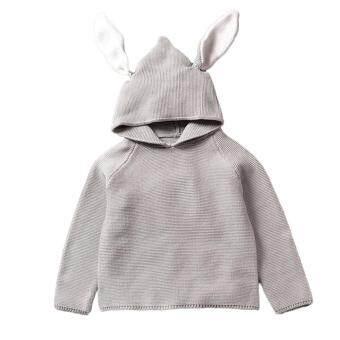 Pencarian Termurah Bayi Anak Laki-laki Anak Perempuan Sweater Pullover Katun Anak-anak Blus Rajutan dengan Lucu Telinga Kelinci Bunny-Intl harga penawaran ...