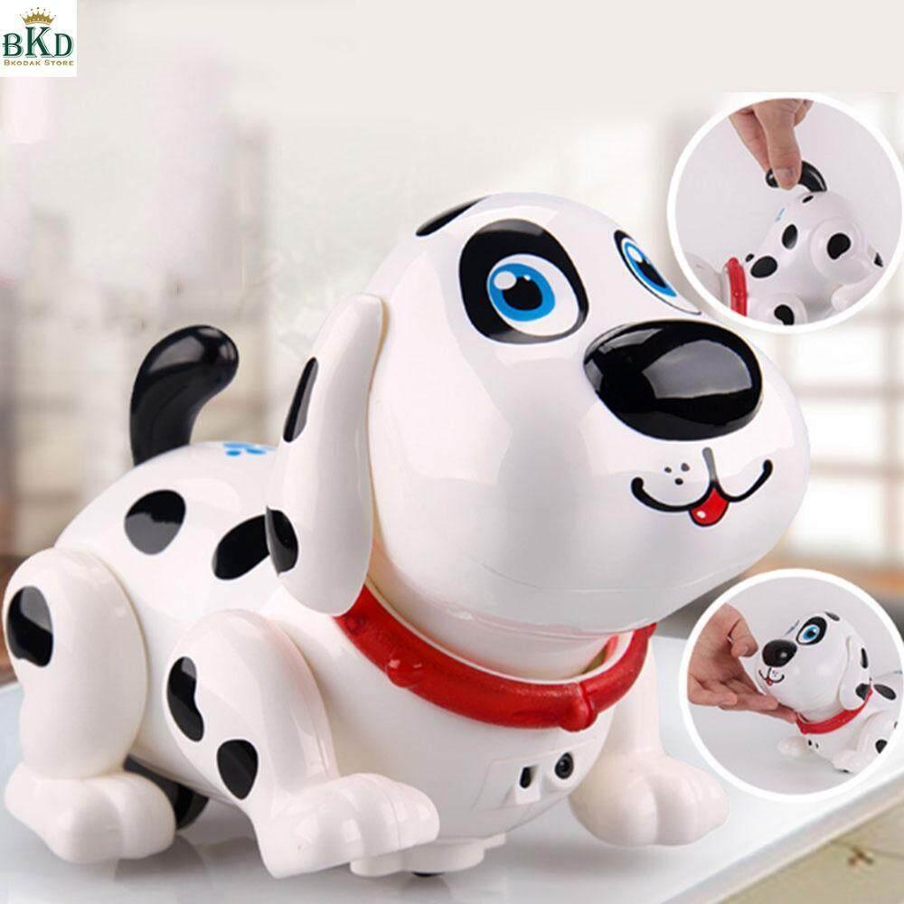 Hình ảnh Bkodak Store Plastic Induction Toy Dog Rattle Dog Electric Dog Interesting