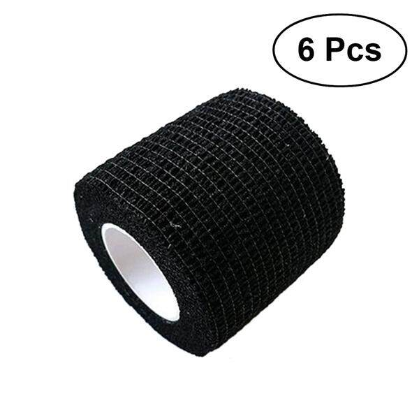 6pcs 7.5x450cm Cohesive Bandages Self Adherent Wrap Tape Stretch Athletic Strong Elastic First Aid Tape