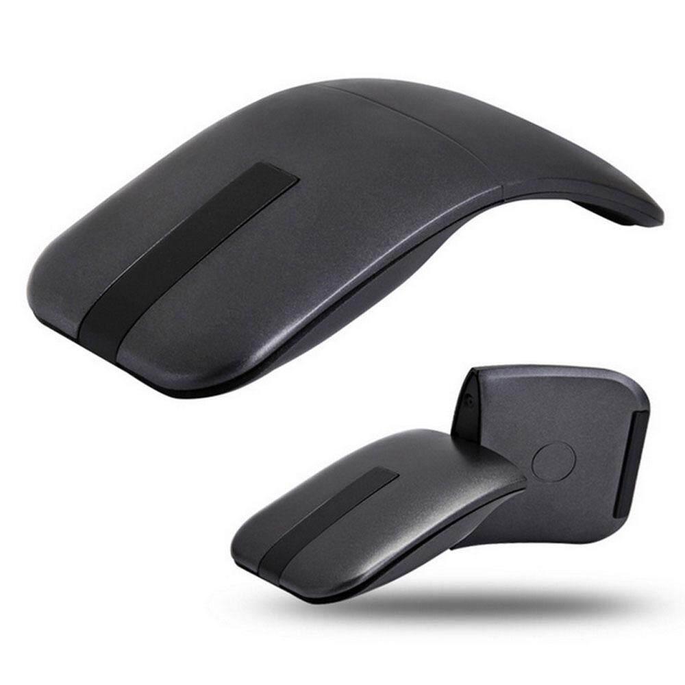 Niceeshop Mouse Nirkabel Bisa Dilipat dengan Penerima USB Mini Mouse untuk PC Laptop Permukaan Macbook