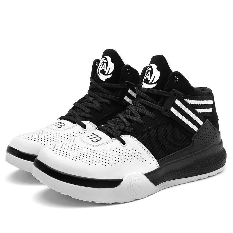 Bml Pria Sepatu Basket Atasan Tinggi Olahraga Outdoor Sepatu Skateboard  Anak Sepatu Kasual Modis Street- 8569db6859